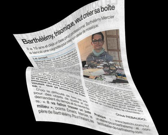On parle de moi dans le journal